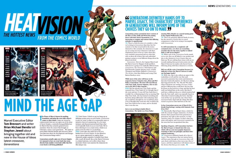 Comic Heroes Issue 32 - Heat Vision