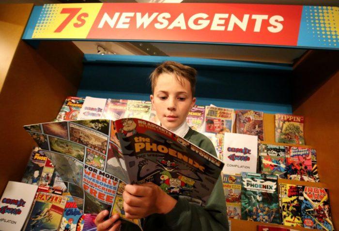 Comics: Explore and Create Comic Art at Seven Stories - Press Image