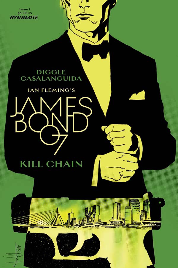 James Bon Kill Chain #1 Cover C by Luca Casalanguida