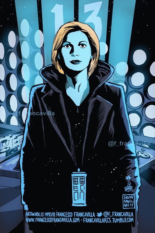 The Thirteenth Doctor by Art by Francesco Francavilla