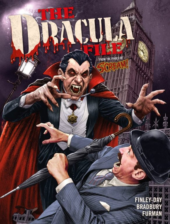 The Dracula Files - Rebellion Publishing Cover by Chris Weston