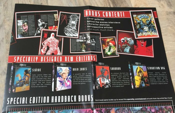 2000AD - The Ultimate Collection - Promotional Leaflet