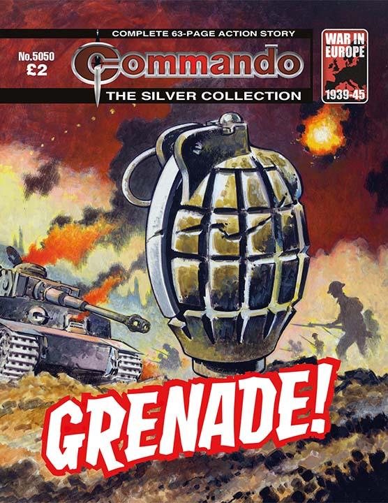 Commando 5050: Silver Collection: Grenade!