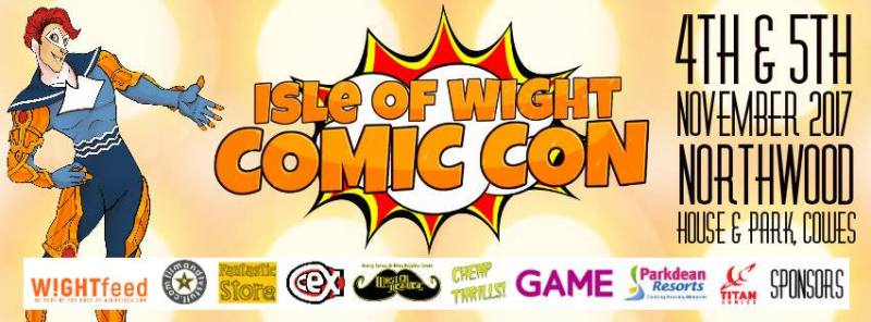 Isle of Wight Comic Con 2017 Banner