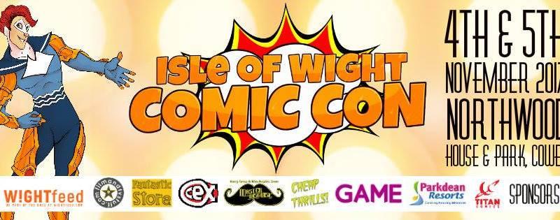 Isle of Wight Comic Con 2017 Banner