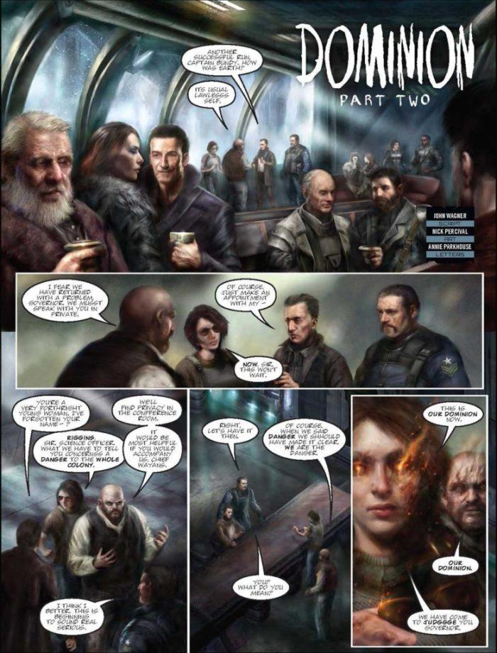 Judge Dredd Megazine 387 - Dominion