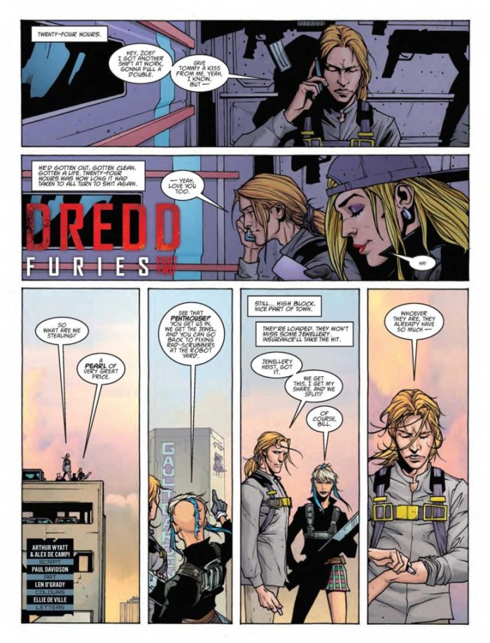 Judge Dredd Megazine 387 - Dredd Furies