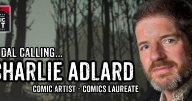 Charlie Adlard LICAF 2017 Banner