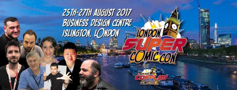London Super Comic- Con 2017 Banner
