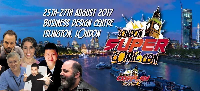 London Super Comic- Con 2017 Banner