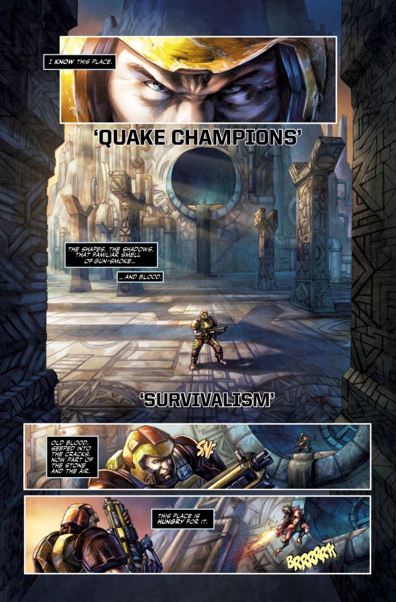 Quake Champions #1 - Sample Art