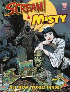 Scream & Misty Halloween Special 2017 - Cover Rejig
