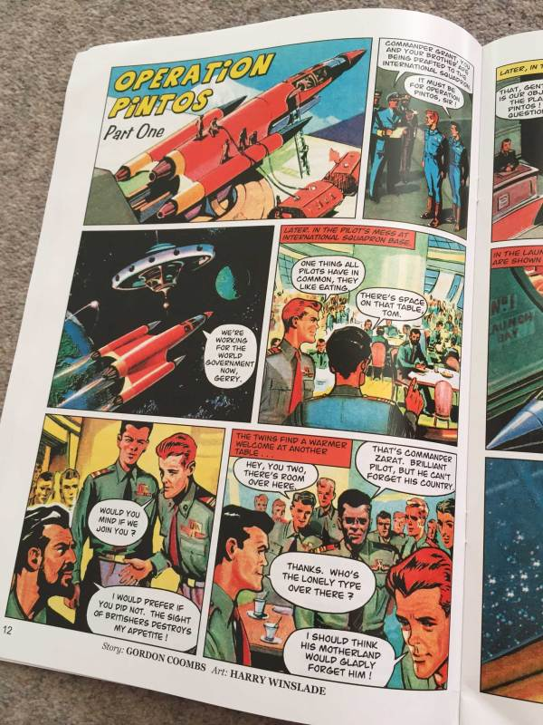 """""""Operation Pintos """" Part One by Gordon Coombs, art by Harry Winslade"""