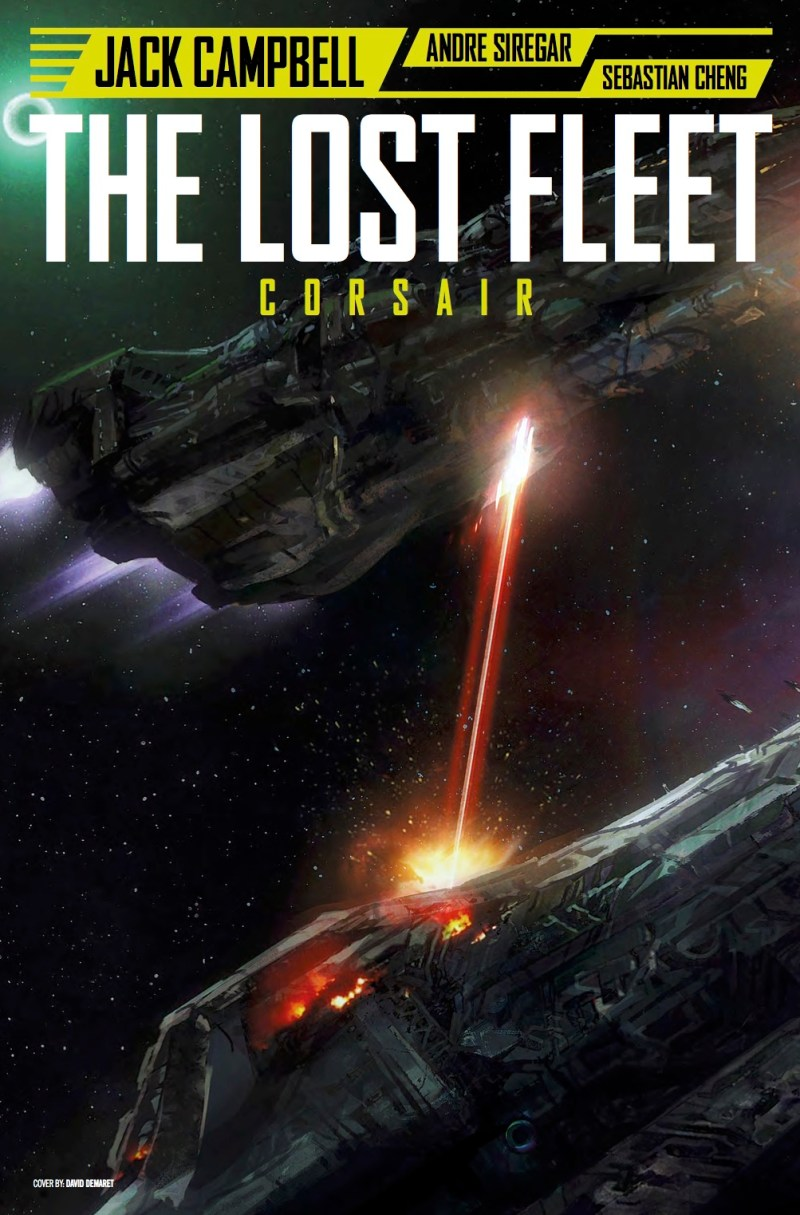 The Lost Fleet #3 Cover B - David Demaret