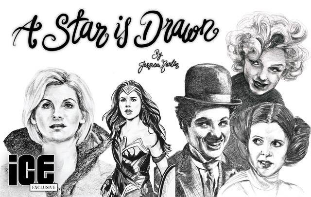 A Star id=s Drawn by Jessica Martin - ICE Promo