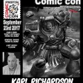 Preston Comic Con 2017 = Karl Richardson