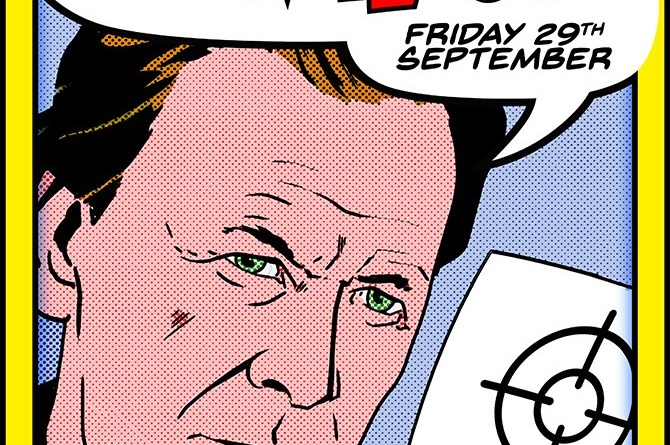 Pat Mills Signing - Orbital Comics - September 2017