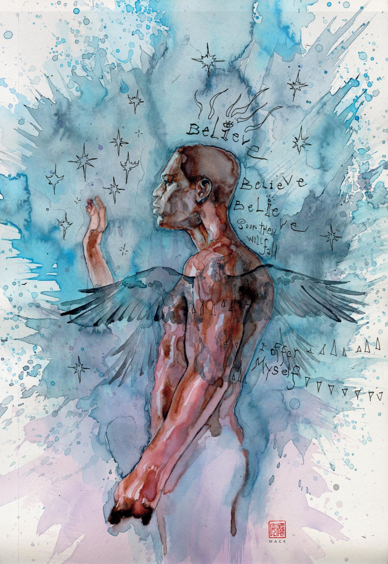 American Gods: My Ainsel - David Mack Cover