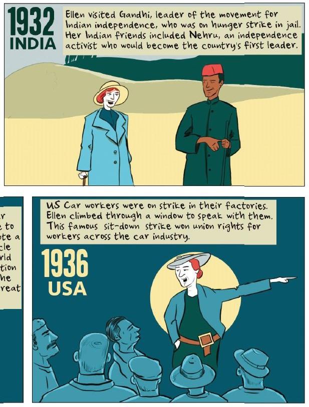 Freedom City Comics - Ellen Wilkinson