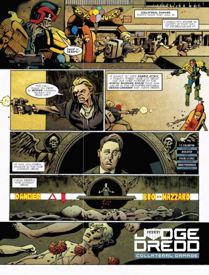 Judge Dredd Megazine388 - Collateral Damage