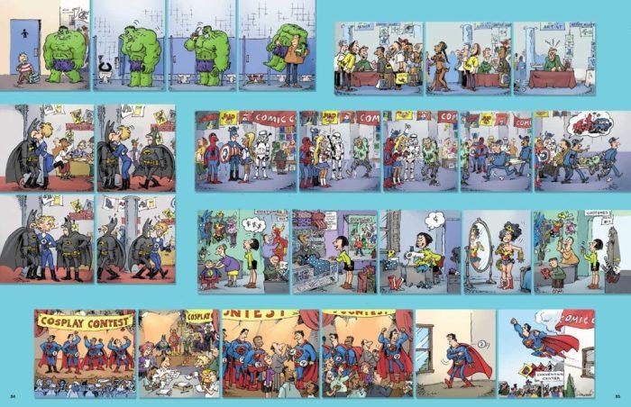 A MAD look at Superheroes by Sergio Aragonés © DC Comics
