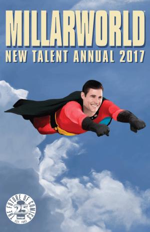 Millarworld 2017New Talent Annual