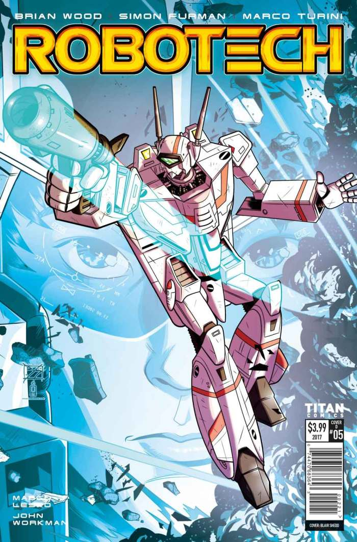 Robotech #5 Cover D: Blair Shedd
