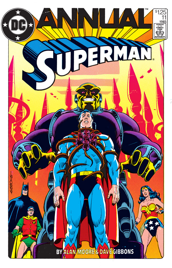 "Superman Annual #11, featuring the story ""Whatever Happened to the Man of Tomorrow?"""