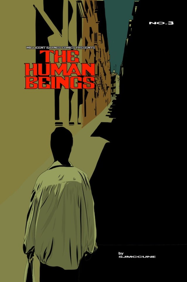 The Human Beings Issue Three - Cover