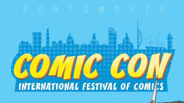 Portsmouth Comic Con Banner SNIP