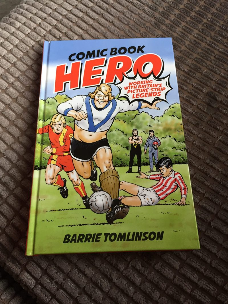 Comic Book Hero - Cover