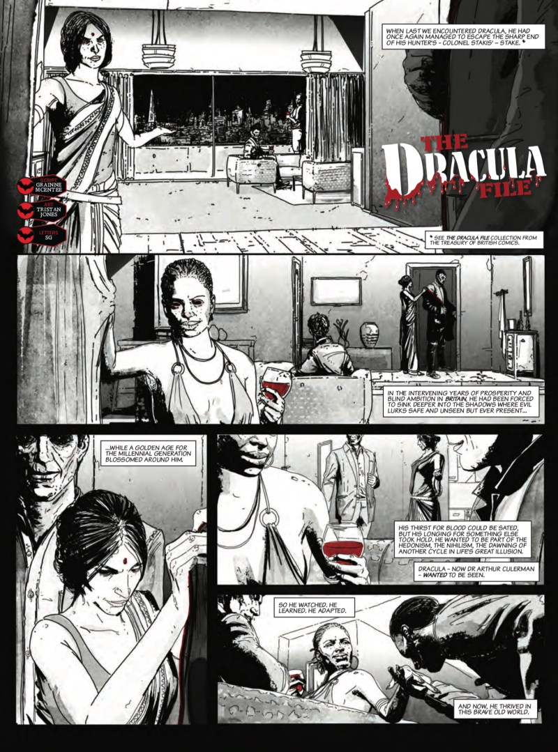 """The Dracula File"" by Grainne McEntee and Tristan Jones"