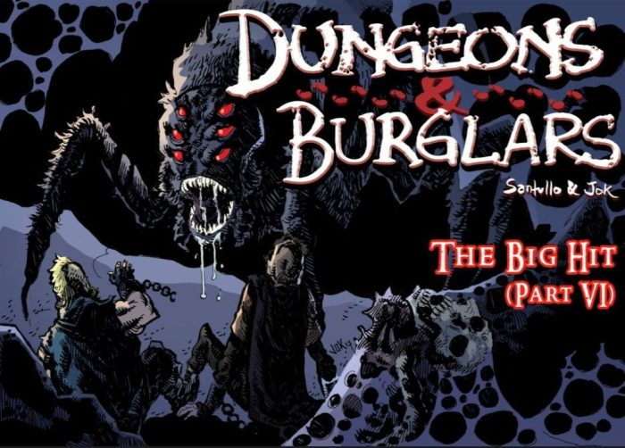 """Dungeons and Burglars"" © Jok LP and Rodolfo Santullo"
