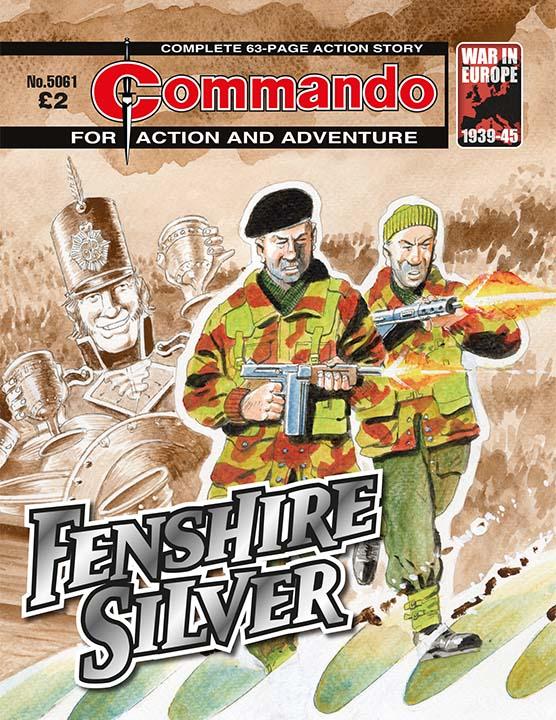 Commando 5061: Action and Adventure - Fenshire Silver