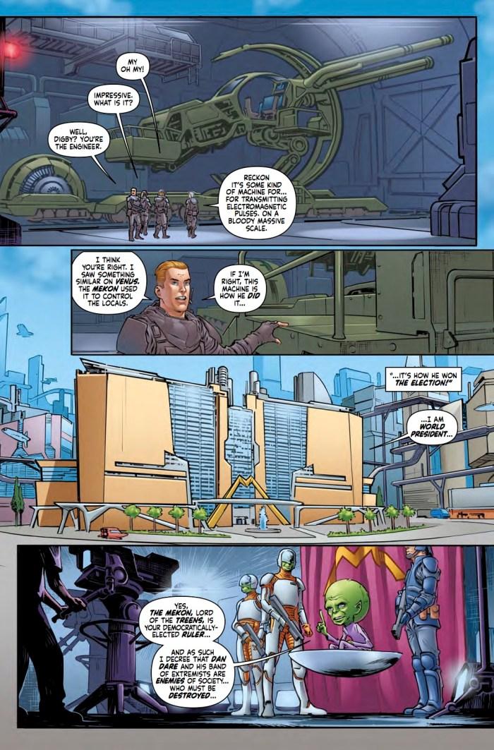 Dan Dare #1 - Page 2