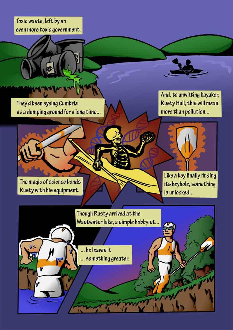 The Adventures of Kaptain Kayak by Thomas J. De Greeve