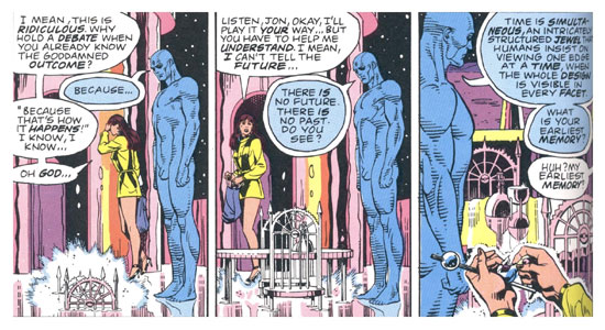 Details from Watchmen. Art by Dave Gibbons