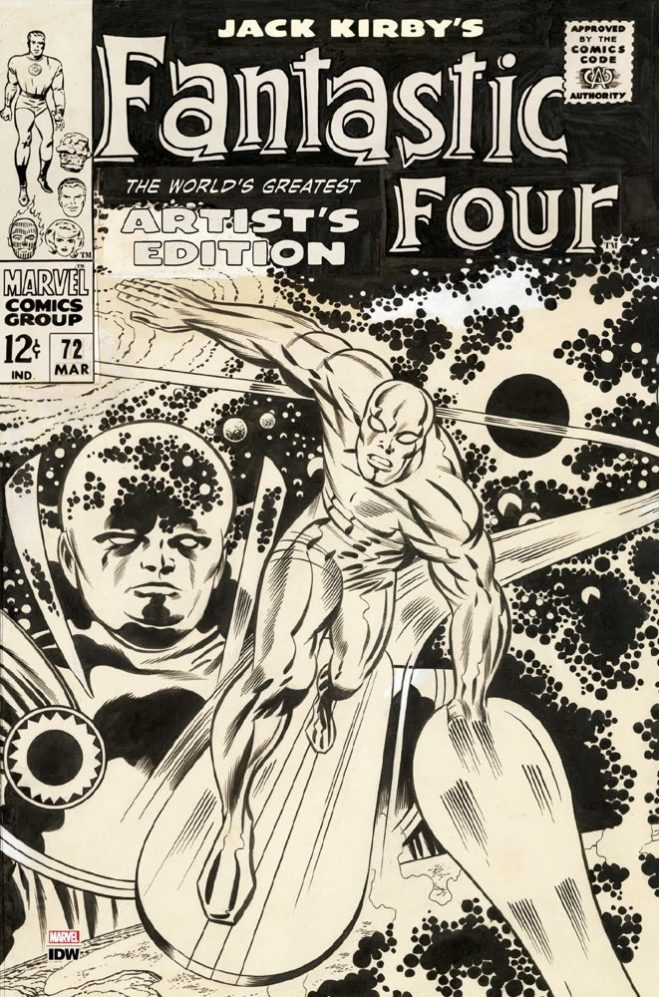 IDW Artist's Editions - Jack Kirby