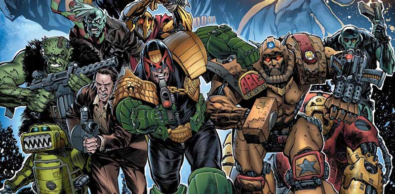 2000AD Prog 2061, 2017 Christmas Special story line-up revealed, Starlord secrets exposed!