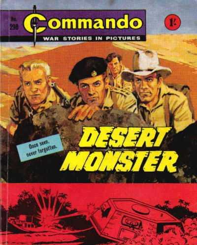 Commando 298: Desert Monster