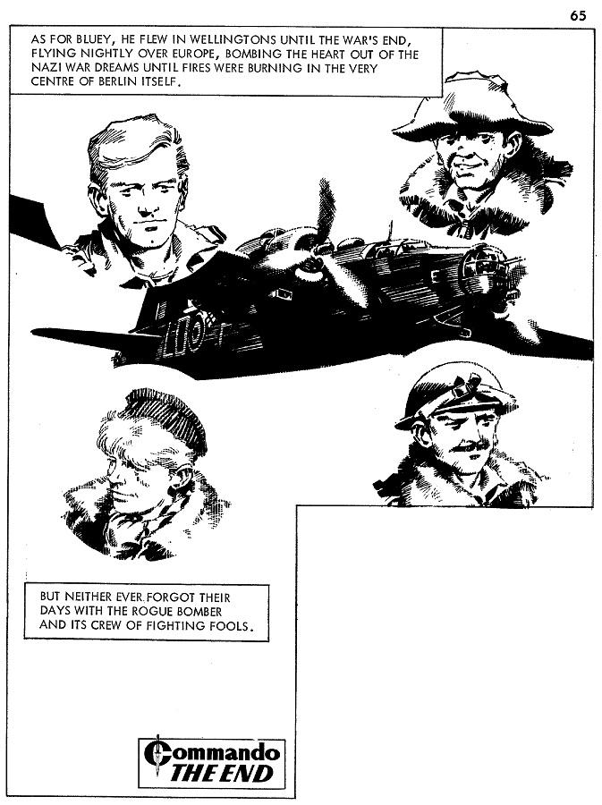 Cam Kennedy's strip work for Commando 469