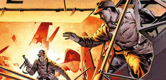 Dangerous secrets revealed and deadly Nazis exposed in latest Commando comics!