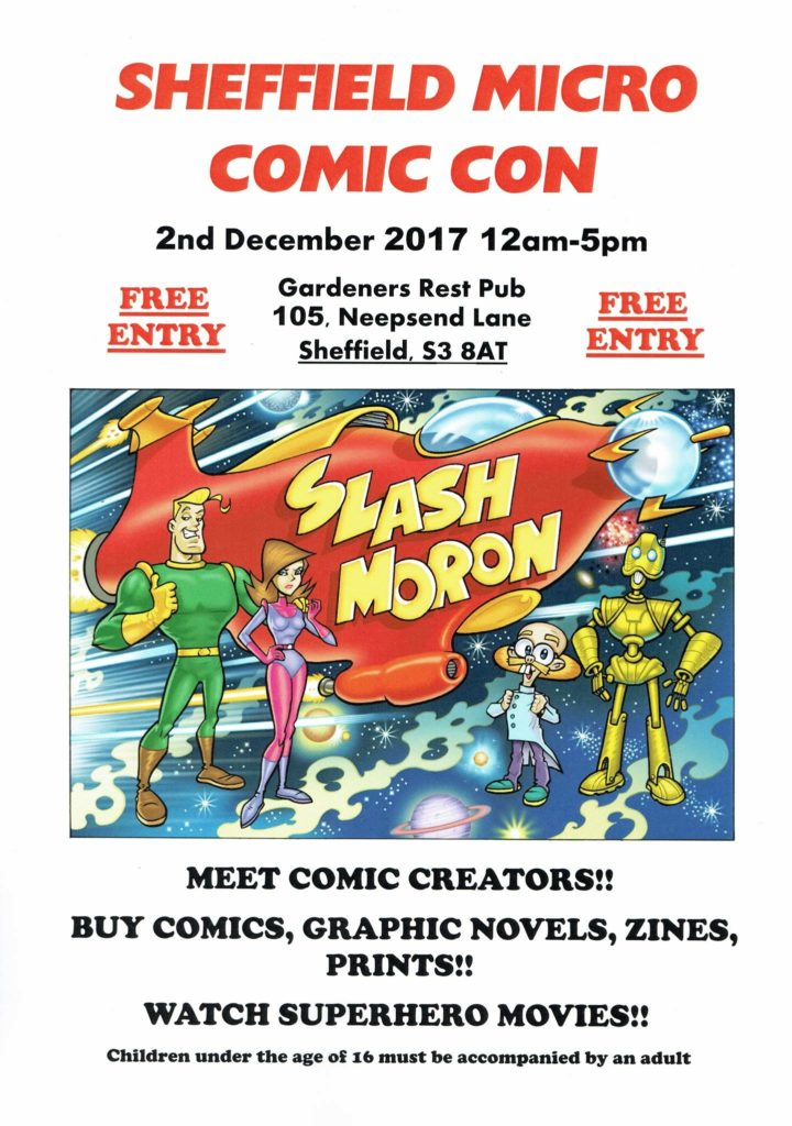Sheffield Micro Comic Con 2017