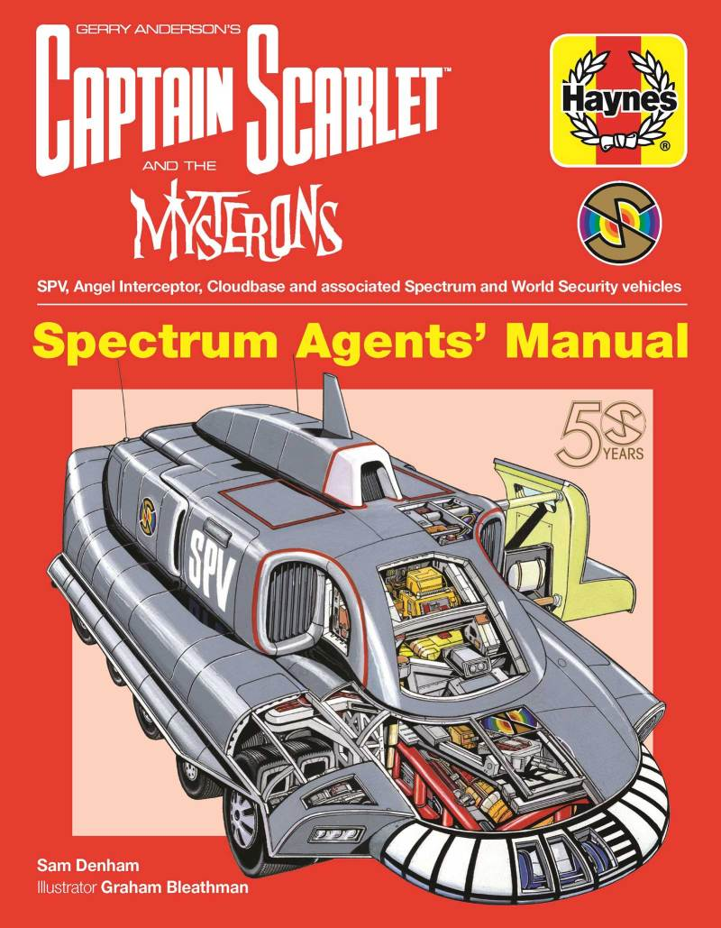 Captain Scarlet - Spectrum Agents' Manual - Cover