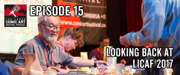 Lakes International Comic Art Festival Podcast
