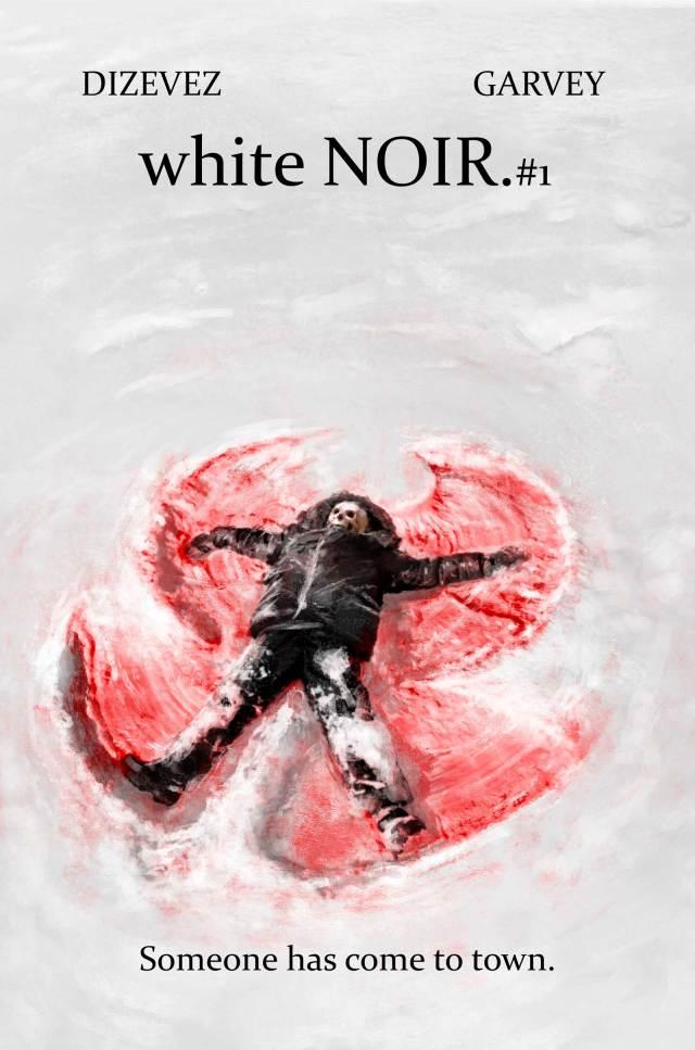 white NOIR #1 - Cover