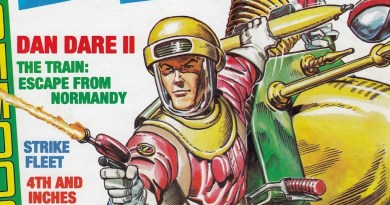 Zzap64 36 - Dan Dare Cover by Oliver Frey SNIP
