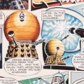 Daleks original artwork (1965) by Ron Turner for TV Century 21 No 51 SNIP