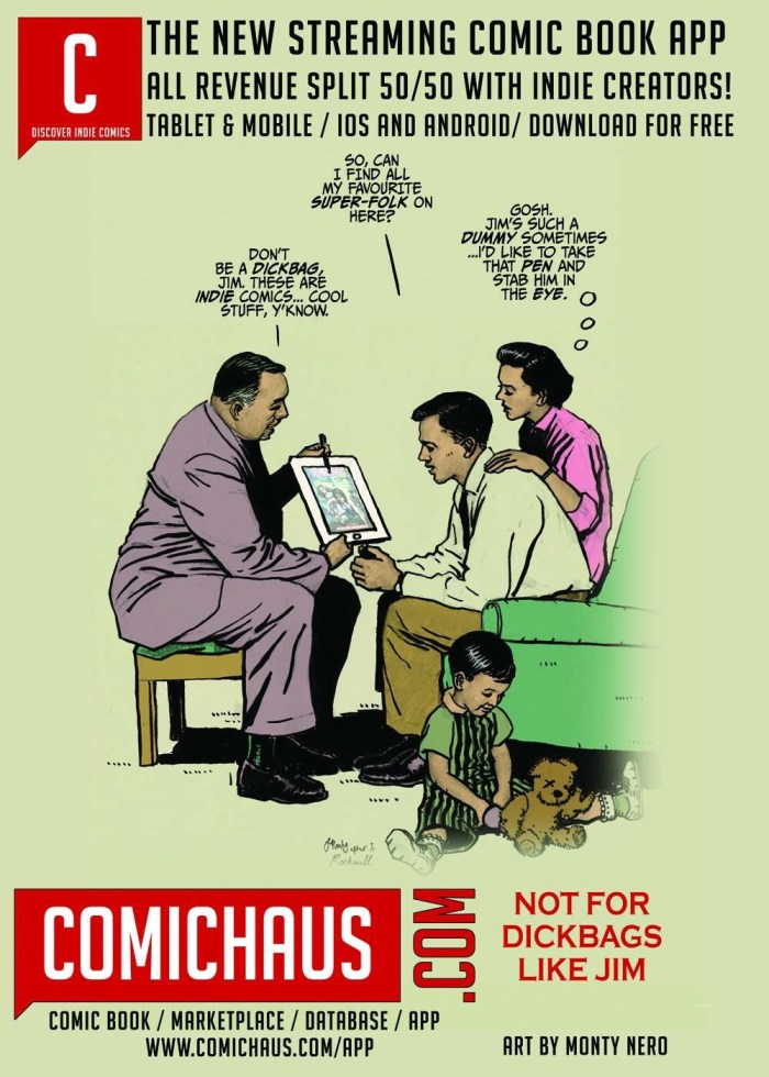 Comichaus App - Promotional Poster