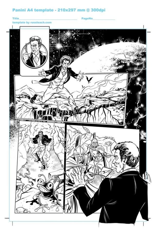 Doctor Who Adventures - Unpublished Twelfth Doctor Strip 1